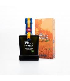 Finca La Torre aromatisée Orange 250 ml - Bouteille en verre 250 ml.