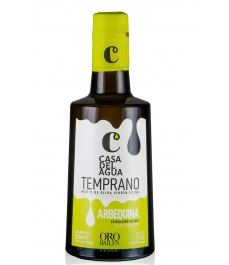 CASA DEL AGUA'S EARLY ARBEQUINA BOTTLE 500 ML. - BOTTLE 500 ML.