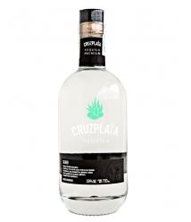 Tequila Cruzplata Silver Glass Bottle 700 ml - Glass Bottle 700 ml