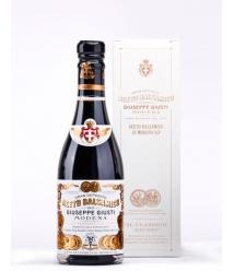 Giuseppe Giusti BALSAMIC VINEGAR of modena Il Classico 2 gold medals Glass Bottle 250 ML - glass bottle 250 ML