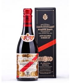 Giuseppe Giusti BALSAMIC VINEGAR from Modena Banda Rossa 5 Gold medals Glass Bottle 250 ML - glass bottle 250 ML