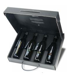 Valderrama Box von 4 Sorten in Flaschen von 250ML - Box 4 Sorten