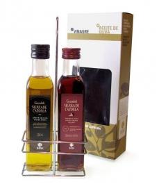 Sierra de Cazorla - aceite de oliva y vinagre de Jerez 250 ml.