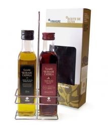 Sierra de Cazorla Aceite de Oliva y Vinagre de Jerez 250 ml. - Botellas vidrio 250 ml.