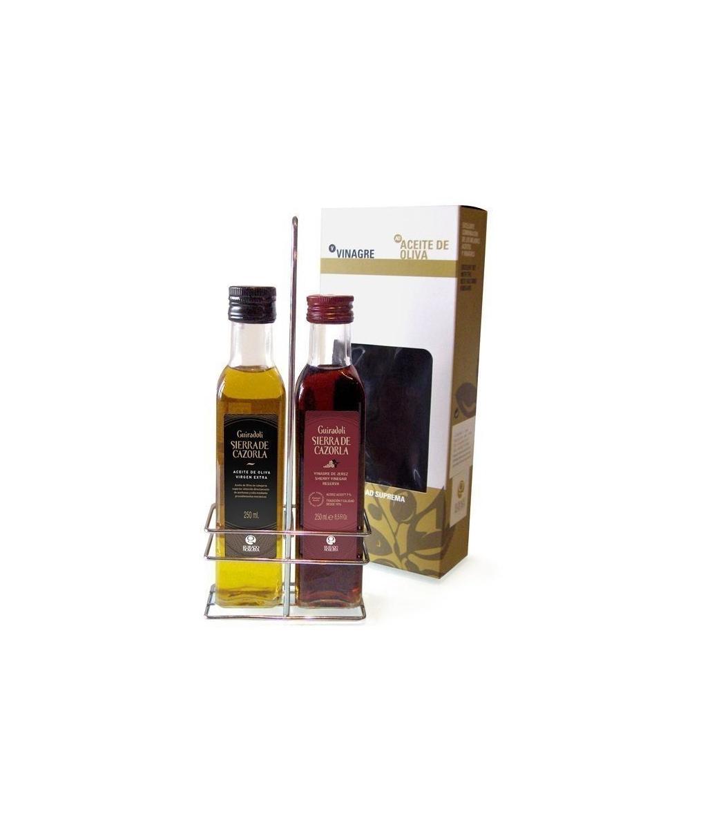 Sierra de cazorla huile d 39 olive et vinaigre de jerez 250 ml - Huile et vinaigre ...