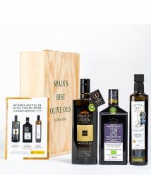 3 Mejores Aceites de España 2020 en caja regalo gourmet - Los aceites más premiados para regalar