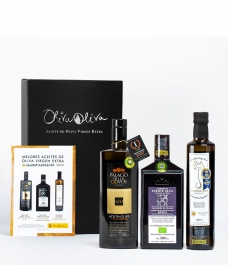 The 3 Best Spanish Olive Oils 2020 in a Premium gift box - The most awarded oils to give away
