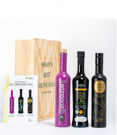 "3 ""Jaén Selección 2020"" in Gourmet Gift Box - The best olive oils to give away"