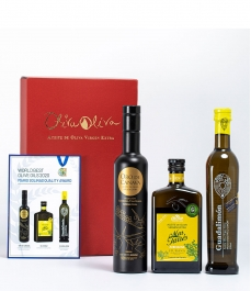 3 Best Oils of Spain 2020 in gourmet gift box - The most rewarded oils to give away