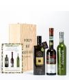 3 Mejores Aceites de oliva del Mundo 2019 en caja de madera
