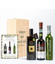 3 Mejores Aceites del Mundo 2019 en caja regalo gourmet - los aceites más premiados para regalar