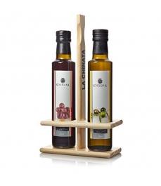La Chinata - Set Aceite de Oliva & Vinagre de Madera (2 x 250 ml)