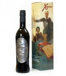 Xabalón - Bouteille verre 500 ml. + étui