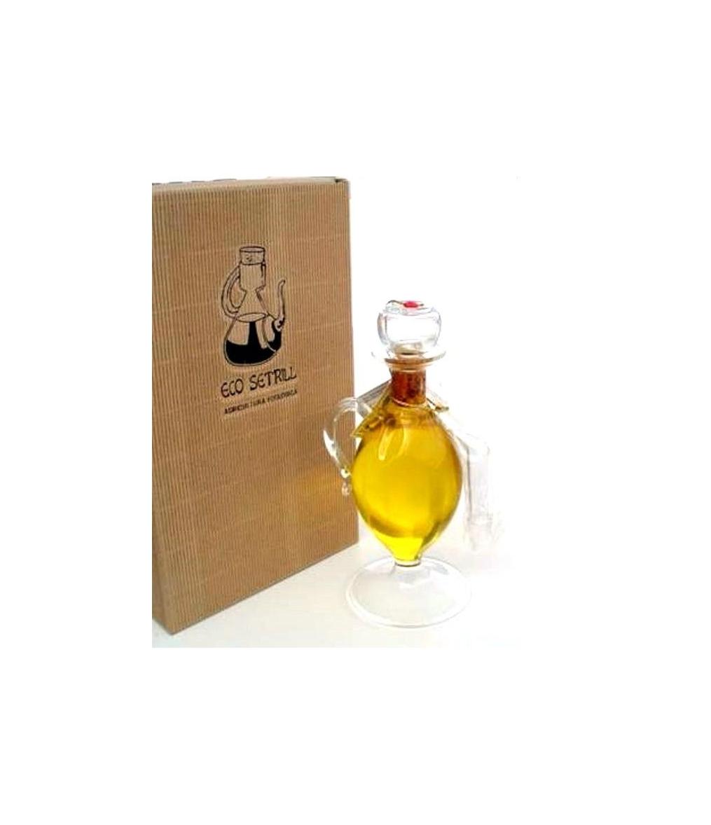 Huile de gel eco setrill huilier en verre 250 ml for Gel a depolir le verre