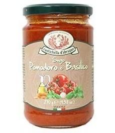 Rustichella d'Abruzzo - Salsa de Tomate y Albahaca 270gr