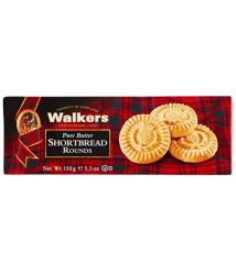Walkers shortbread rounds Mantequilla 150 gr.