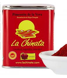 La Chinata - Pimentón de la Vera - Pimentón Ahumado Dulce - 70 g
