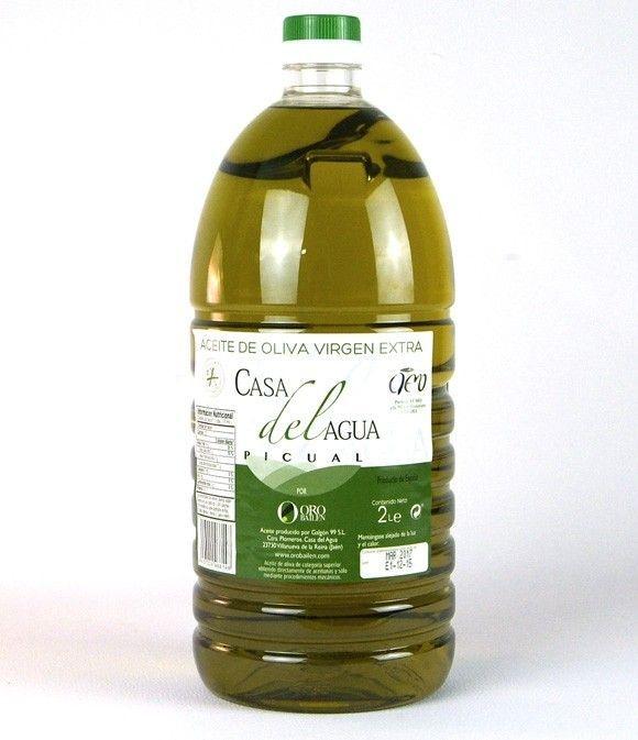 Oro Bailén Casa del Agua - PET bottle 2 l.