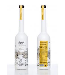 Sierra de Cazorla Arbequina BIO de 500 ml. - Botella vidrio 500 ml. con estuche