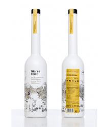 Sierra Oliva Cosecha Temprana - ARBEQUINA BIO - botella vidrio 500 ml. con estuche