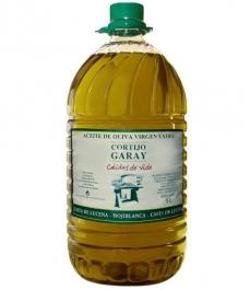 Cortijo Garay Hojiblanco - PET bottle 5 l.