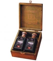 Fuenroble - caja madera con dos frascas 50 cl.