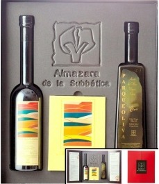 Award winning oils of Almazaras de la Subbética - Red box