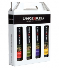 Campos de Uleila de 250 ml. - Estuche 4 botellas 250 ml. Monovarietales