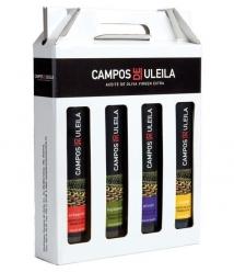 Campos de Uleila de 250 ml. - Estuche 4 botellas 250 ml. Monovarietales