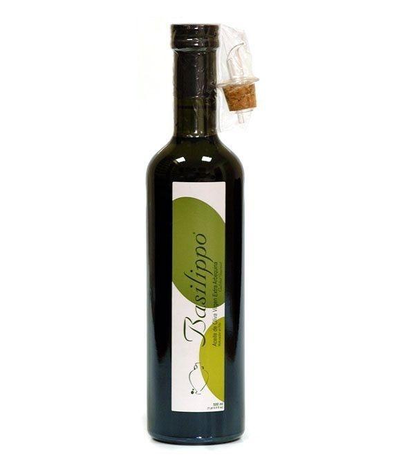 Basilippo Gourmet Arbequino - botella vidrio 500 ml.