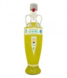 aceite de oliva eco setrill ánfora de vidrio de 750ml