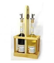 Eco Setrill - Wooden oil bottle
