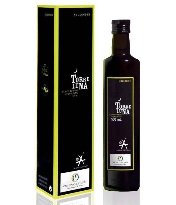 Torreluna Selección - estuche + botella vidrio 500 ml.