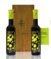 Cortijo la Torre 200 ml más estuche madera- 2 botellas vidrio 200 ml.