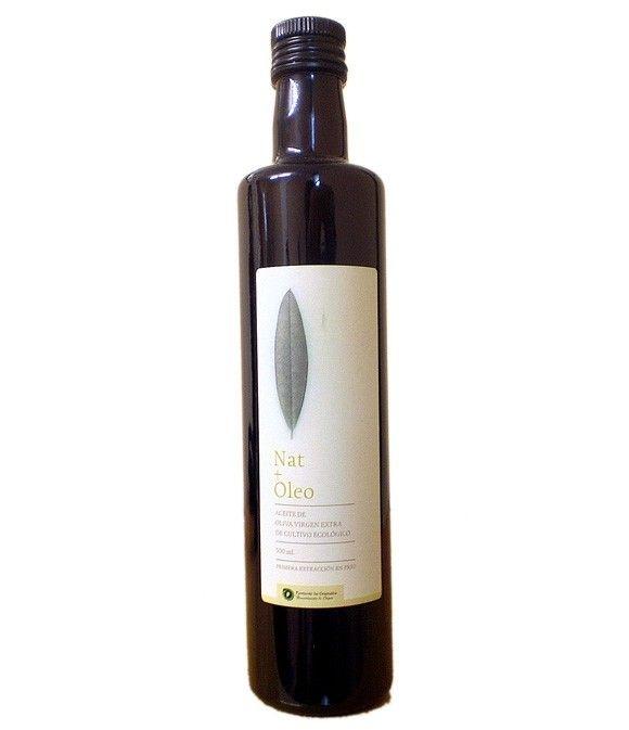 Nat+Oleo - botella vidrio 500 ml.