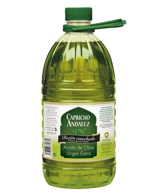 Capricho Andaluz Recién cosechado - garrafa pet 3 l.