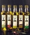 """Aceite Plétora """"al ajo"""" - botella vidrio 250 ml."""