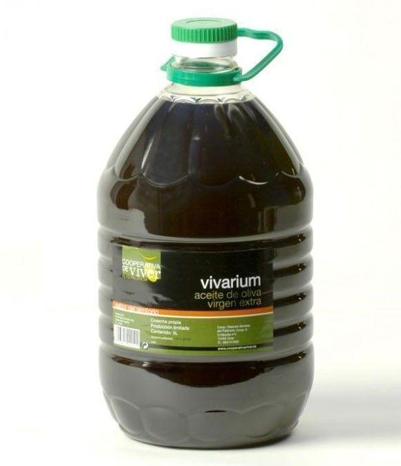 Vivarium - Garrafa PET 5 l.