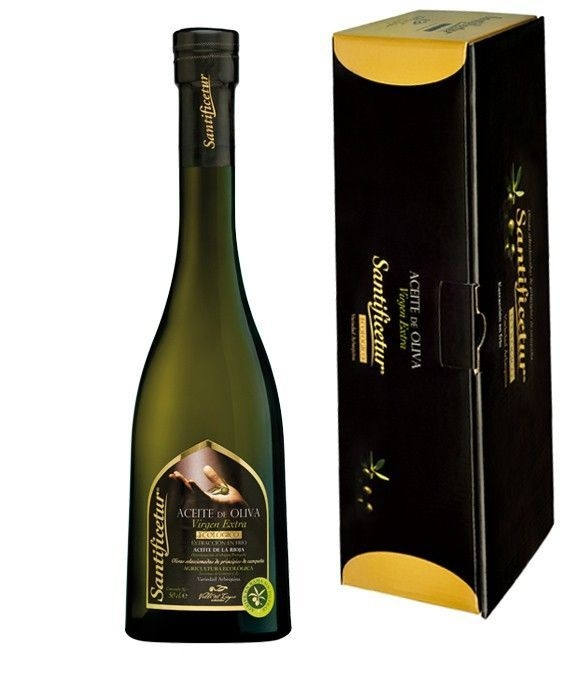 Santificetur - botella vidrio 500 ml. + estuche