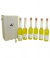 Eco Setrill - Box 6 glasflaschen 200 ml. + Ausgießer