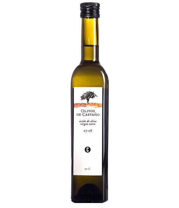 Olivos de Castaño - botella vidrio 500 ml.
