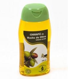 Champú al aceite de oliva Cosmetica Olivo - botella 250 ml