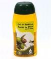 Gel al aceite de oliva Cosmetica Olivo - botella 250 ml.