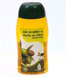 Gel al aceite de oliva Cosmetica Olivo - botella 250 cl.