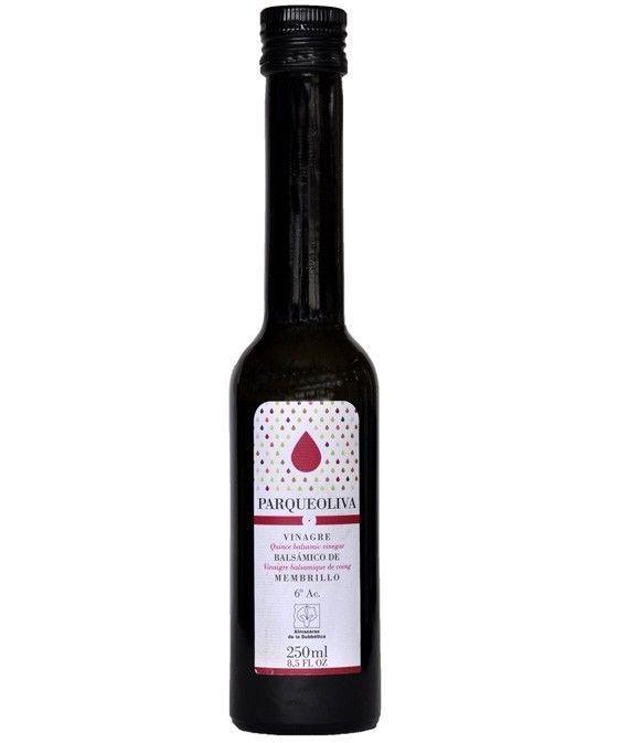 Vinagre Parqueoliva - Dulce de Membrillo Balsámico 250 ml.
