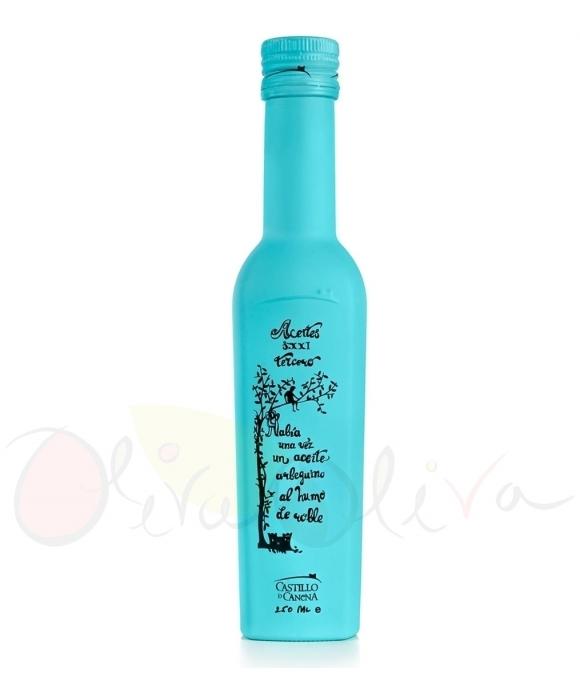 Smoked Castillo de Canena - Glass bottle 250 ml.