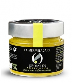 Oro Bailén Reserva Familiar Olivenöl Arbequina Jam - Glas 150 gr.