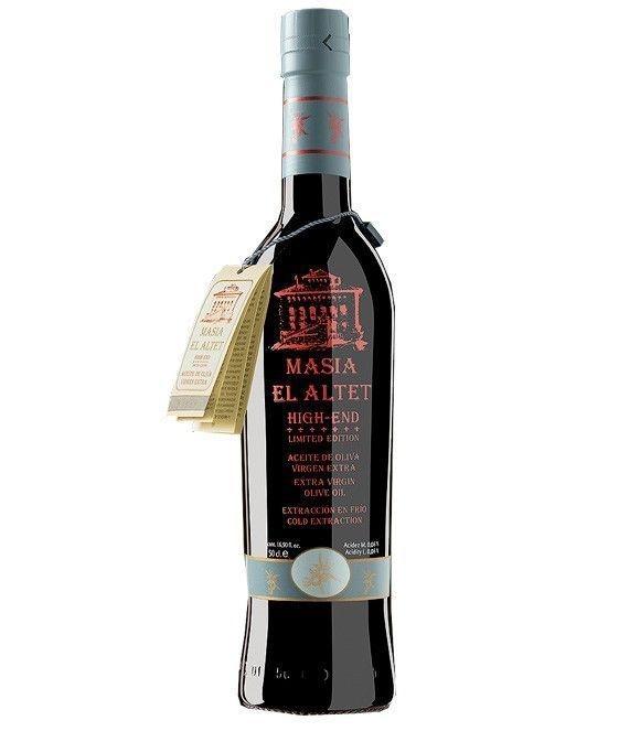 Masía El Altet High End - botella vidrio 500 ml.