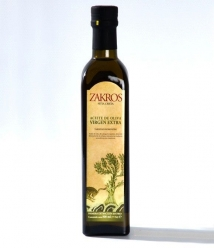 Zakros - botella vidrio 500 ml.