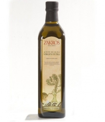 Zakros - botella vidrio 75 cl.